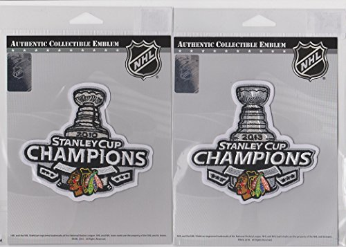 2013 NHL Stanley Cup Final Champions Chicago Blackhawks Patch