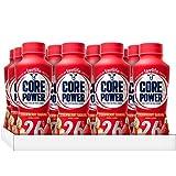 Core Power by fairlife High Protein (26g) Milk Shake, Strawberry Banana, 11.5 fl oz bottles, 12 count