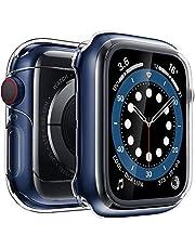 Penom Case for New Apple Watch SE Series 6 Screen Protector 44mm(2020), Apple Watch Series 5 Series 4 Case (44mm)