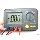 AideTek Precision Milliohm Meters vs 4 wire kelvin clip 0 adjust large LCD Backlit LCD data hold Manual zero display adjust