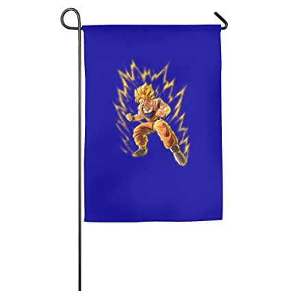 Amazon.com: Render Dragon Ball Z Goku Bandera de jardín ...