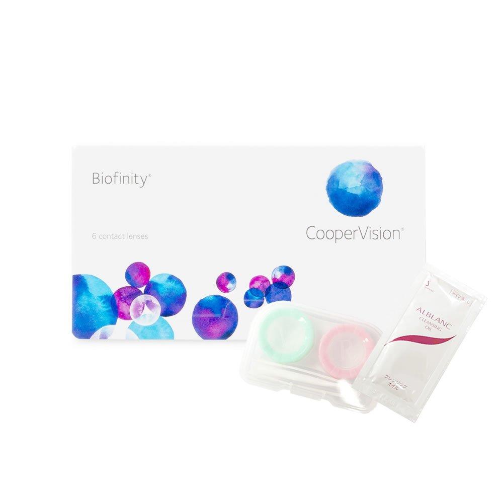 バイオフィニティ 4セット/箱 24枚入 クーパービジョン コンタクトレンズ 1ヶ月【BC】8.6 Biofinity Monthly (PWR:-3.75) B07B9YBYYV  PWR:-3.00 PWR:-3.00