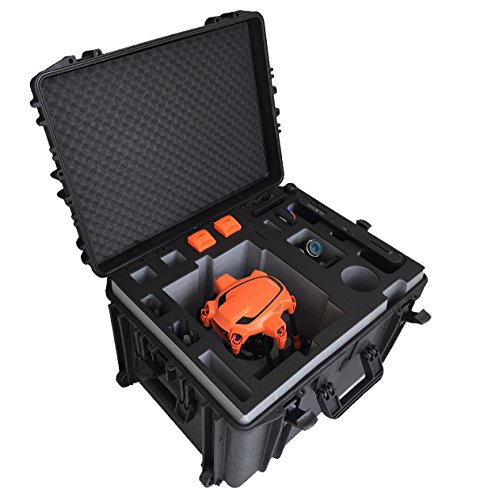 Professional Carry Case for Yuneec Typhoon H520 - Made in Germany - Waterproof and Dust Proof -