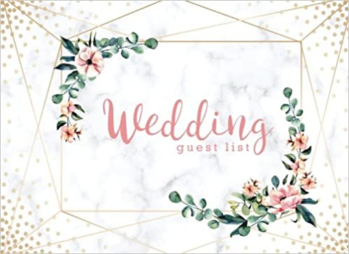 wedding guest list wedding guest tracker wedding guest planner