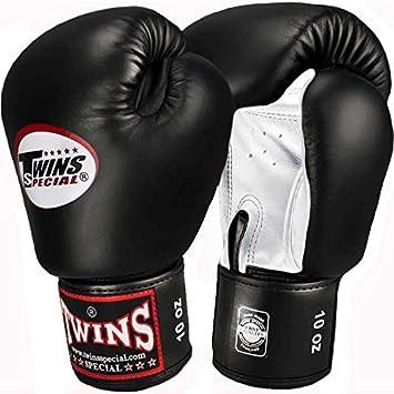 Kickboxen Boxhandschuhe Leder Weitere Sportarten schwarz-weiß