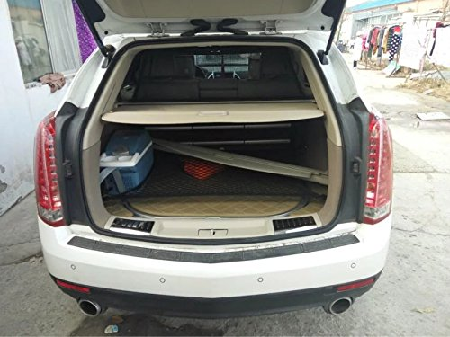 Retractable Rear Trunk Cargo Cover/Trunk Organizers/Trunk Shielding Shade for Cadillac SRX XT5 Luggage&Baggage Privacy/Security/Safety Protecter by (Srx Cargo Cover)