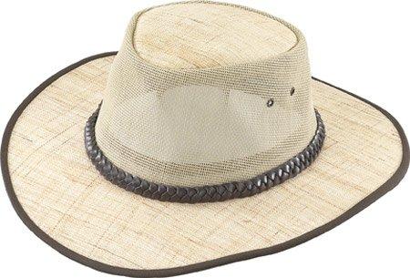 Henschel Men's Handmade Linen Hat, Khaki, Small - Henschel Handmade Hat