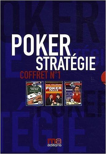 Poker stratégie : Coffret n°1 en 3 volumes : Tome 1, Poker tells ; Tome 2, Les secrets du cash game ; Tome 3, Shuffle up and deal pdf ebook