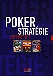 Poker stratégie : Coffret n°1 en 3 volumes : Tome 1, Poker tells ; Tome 2, Les secrets du cash game ; Tome 3, Shuffle up and deal