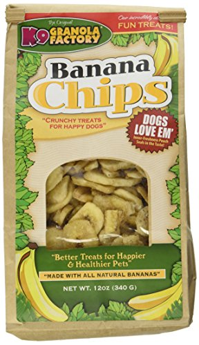 - K9 Granola Factory Banana Chips Dog Treats