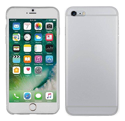 Yayago Coque de protection ultra-fine (0,8mm) pour Apple iPhone 7 / 8 silicone transparent + Yayago Protection d'écran en verre trempé 0.26mm ultra résistant 9H pour Apple iPhone 7 / 8