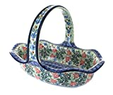 Polish Pottery Irena Basket