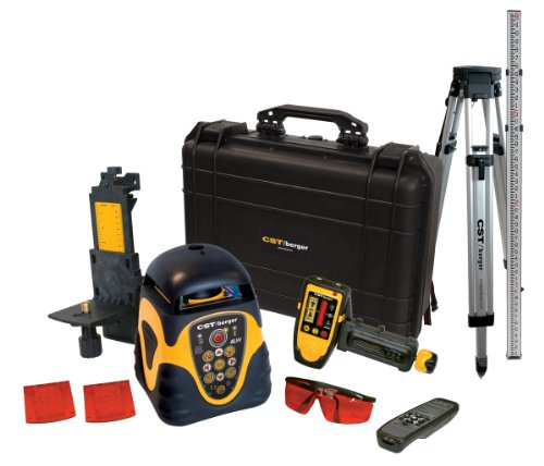 CST/berger 57-ALHVPKG Electronic Self-Leveling Horizontal and Vertical Rotary Laser Level Kit