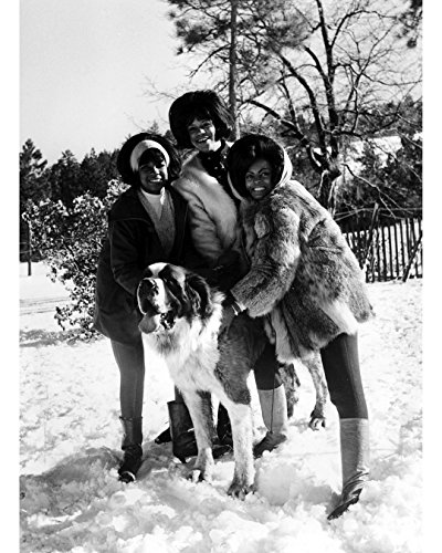 Globe Photos ArtPrints The Supremes In The Snow - 8