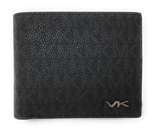 Michael Kors Men's Cooper Billfold with Passcase Wallet (Black) ()