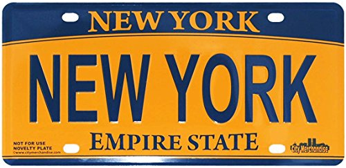 Personalized Front License Plates >> Compare Price: new york city license plate - on ...