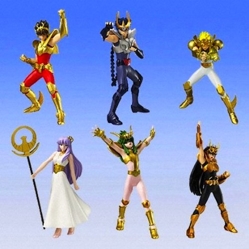 Gashapon HGIF Saint Seiya Umisumeragi Poseidon edited by all six
