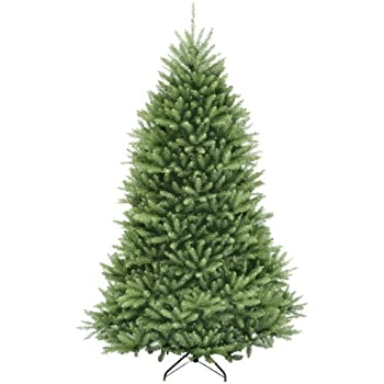 National Tree 6.5 Foot Dunhill Fir Tree, Hinged (DUH-65) - Amazon.com: Balsam Hill Classic Blue Spruce Artificial Christmas