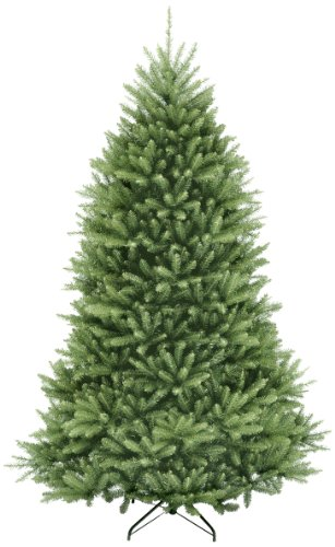 National Tree 6.5 Foot Dunhill Fir Tree, Hinged - The Christmas Warehouse Trees