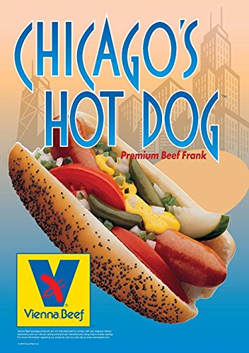 Vienna Beef Chicago Style Hot Dog Kit 16 PACK by Vienna Beef