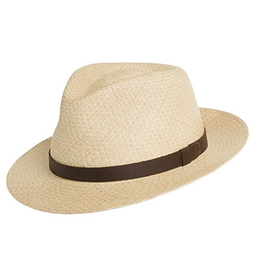 HAVANA SORRENTO Panama Straw Hat SNAP BRIM Dress -
