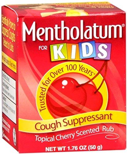 Mentholatum Cherry Chest Rub For Kids 1.76 oz (Pack of 5)