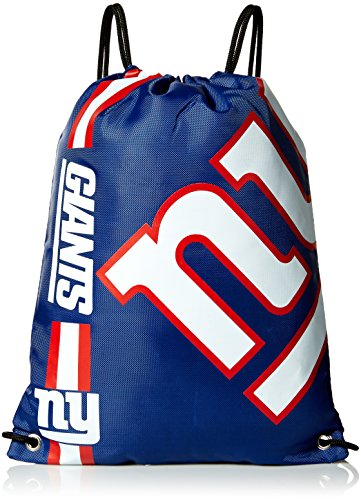 NFL New York Giants Big Logo Drawstring Backpack -