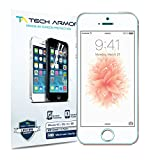 Tech Armor High Definition Clear Screen Protector for iPhone 5/5C/5S/SE (Pack of 3)