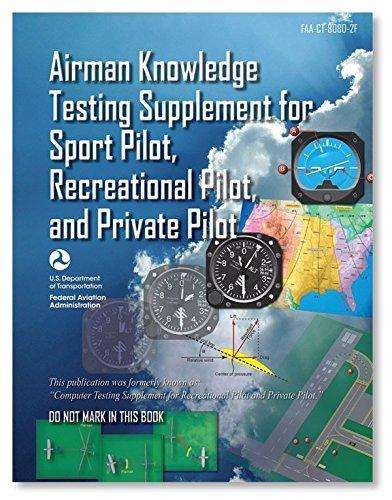 ASA Airman Knowledge Testing Supplement - Sport Pilot, Recreational Pilot, and Private Pilot by ASA