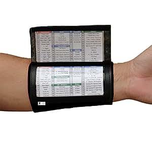 SteelLocker Sports X100 Youth Playbook Wristband - Black