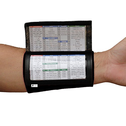 SteelLocker Sports X100 Youth Playbook Wristband - Black