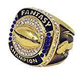 Best Fantasy Football Leagues - Decade Awards Gold Fantasy Football Champion Ring   Review