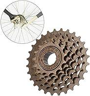 Bike Freewheel Set, Bicycle Freewheel Cassette Sprocket 6 Speed 14T-28T Mountain Bike Replacement Accessory, w