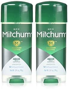 Mitchum 2 Piece Gel, Unscented, 6.8 Ounce