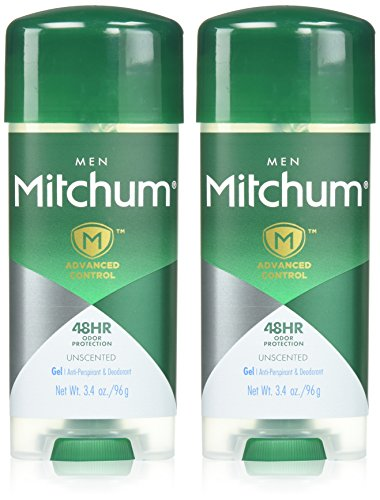 Active Ingredient Anti Perspirant (Mitchum 2 Piece Gel, Unscented, 6.8 Ounce)