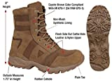 Coyote Brown Ar 670-1 Forced Entry 8'' Military Tactical Boots