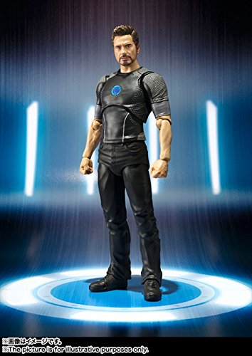 Bandai S.H. Figuarts Ironman Tony Stark 150mm ABS/PVC Action Figure