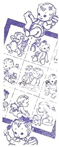 Baby Transfer Design Quilt Pattern Embroidery Motifs. NOT a finished item, this is a pattern and/or instructions to make the item only.