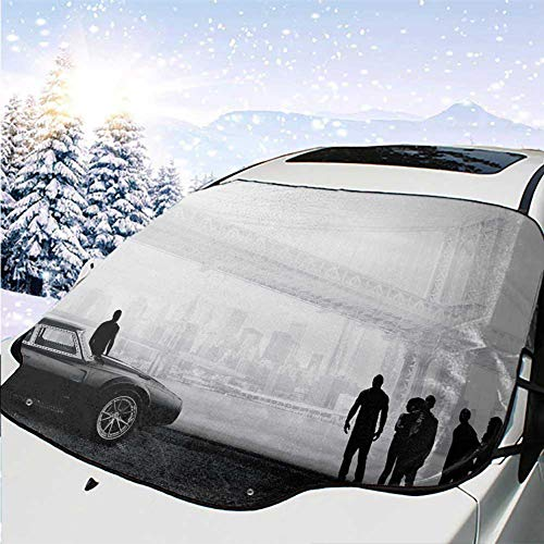 Kitimi car Windshield Sun Shade Fast and Furious (Fast And Furious Tokyo Drift Cars For Sale)