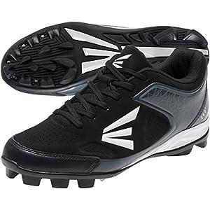 Easton 360 Senior Baseball Cleats - Black/Charcoal (9.0)