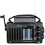 Kaito Voyager Solo KA450 Solar/Dynamo AM/FM//SW & NOAA Weather Emergency Radio with Alert & Cell Phone Charger...
