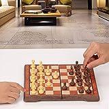 ColorGo Magnetic Travel Chess Set, Portable Mini