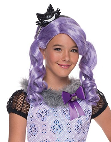 Girls Kitty Cheshire Costumes (Rubie's Costume Ever After High Kitty Cheshire Child Wig)