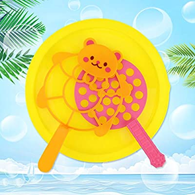 Fansport 15PCS Big Bubble Wands Set Bubble Party Pack Bulk, Funny Bubble Toy Bubble Making Toys for Outdoor, Big Bubble Wands Bulk for All Age People Bubbles Party Favors Supplies: Sports & Outdoors