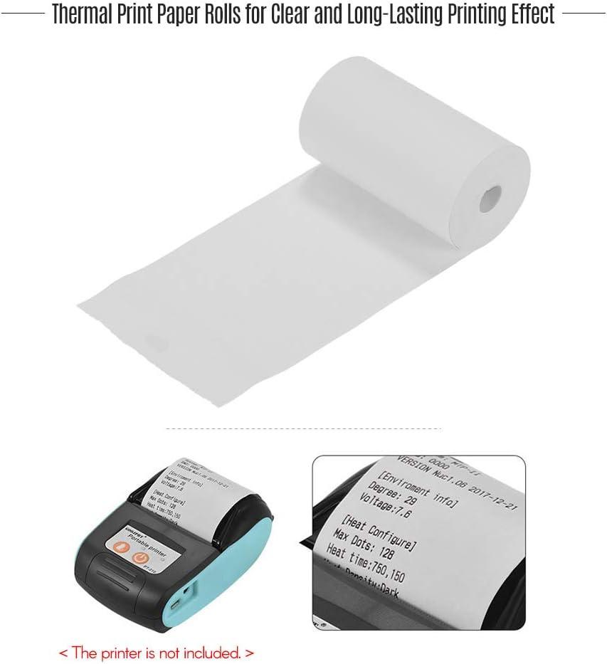 Aibecy Thermal Paper Rolls 5730mm Printer Paper Cash Register Rolls for Supermarket POS Receipt Paper Printing 20 Rolls