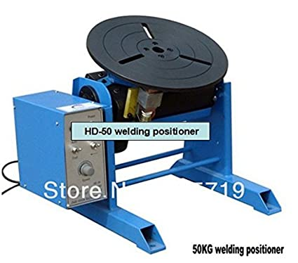 HD-50 50 KG posicionador de soldadura para pieza de trabajo circular portátil equipo de