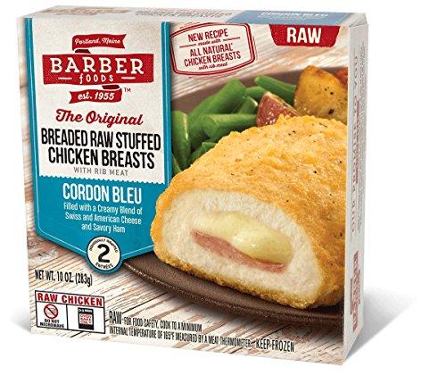 BARBER FOODS CHICKEN CORDON BLEU 10 OZ PACK OF 2
