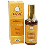 KHADI – Herbal Anti-Aging Body & Face Oil – 3.5 fl.oz – Suitable for dry & rough skin – Contains antioxidants – Supports skin regeneration Review