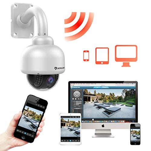 Dericam Outdoor Wireless Security Camera Outdoor Ptz