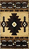 Champion Rugs Southwest Native American Area Rug Berber (24 Inch X 40 Inch Mat)